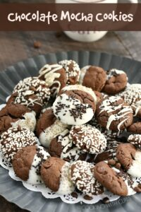 Chocolate Mocha Cookies are perfect for the coffee addict in all of us!! cookingwithcurls.com