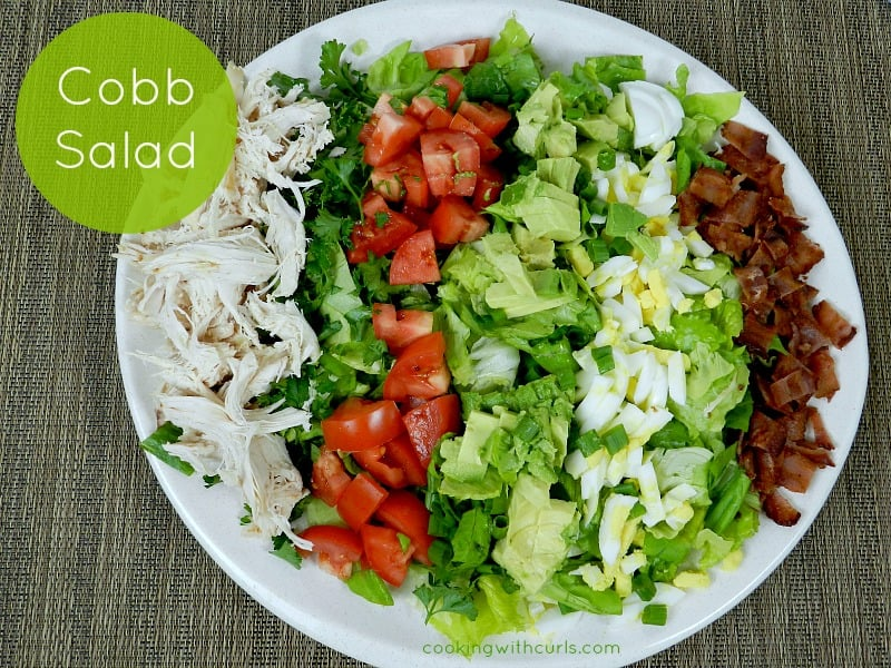 Cobb Salad cookingwithcurls.com