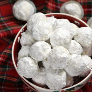 Everyone's favorite holiday cookie - Pecan Snowballs aka Russian Teacakes, Mexican Wedding Cakes. Whatever you call them, they are delicious!! cookingwithcurls.com