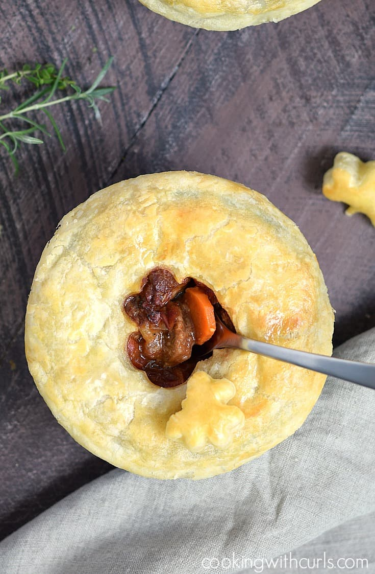 It would not be St. Patrick's Day without delicious Guinness Steak Pie cookingwithcurls.com