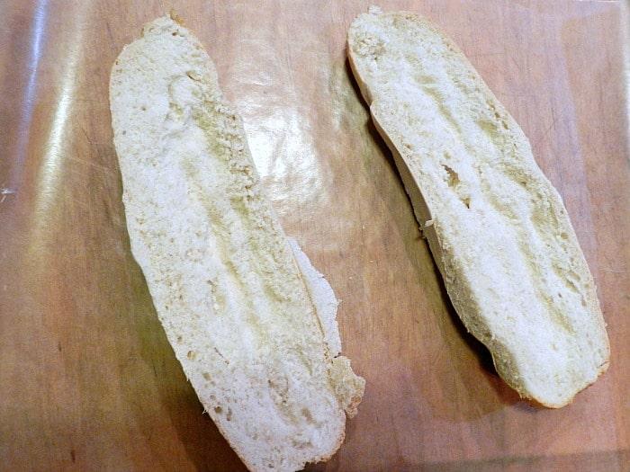 Italian Sub Sandwich bread cookingwithcurls.com
