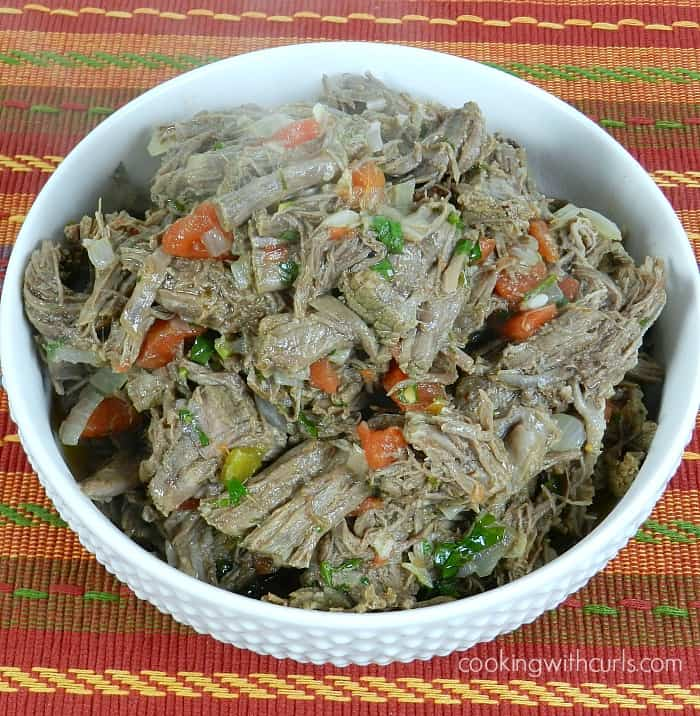 Mexican Shredded Beef by cookingwithcurls.com