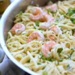 Shrimp Linguine - like Shrimp Scampi, but better! cookingwithcurls.com