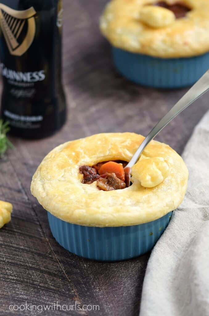 Guinness Steak Pie - Cooking With Curls