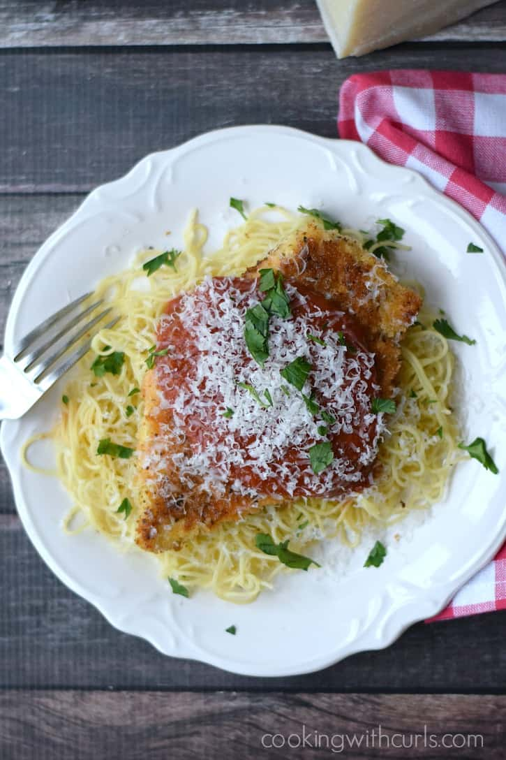 Chicken Parmesan | cookingwithcurls.com