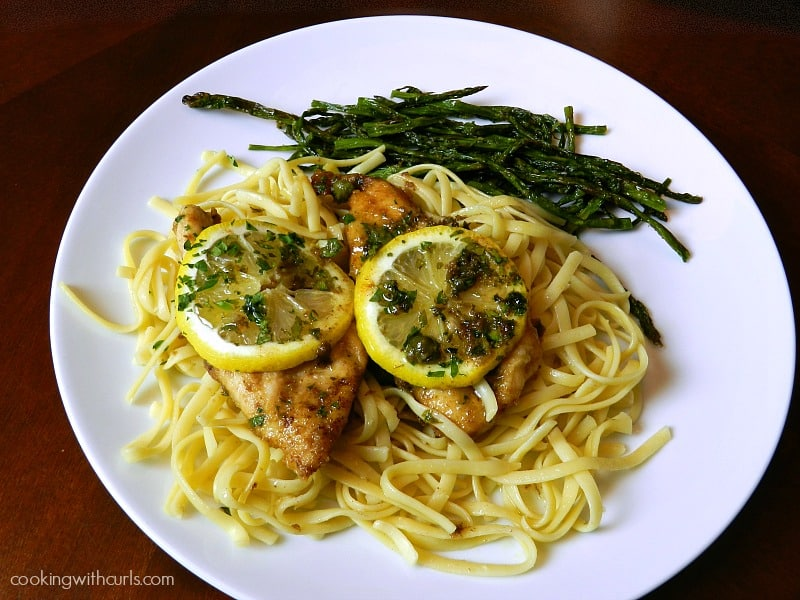 Chicken Scaloppine by cookingwithcurls.com