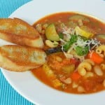 Minestrone Soup & back to normal