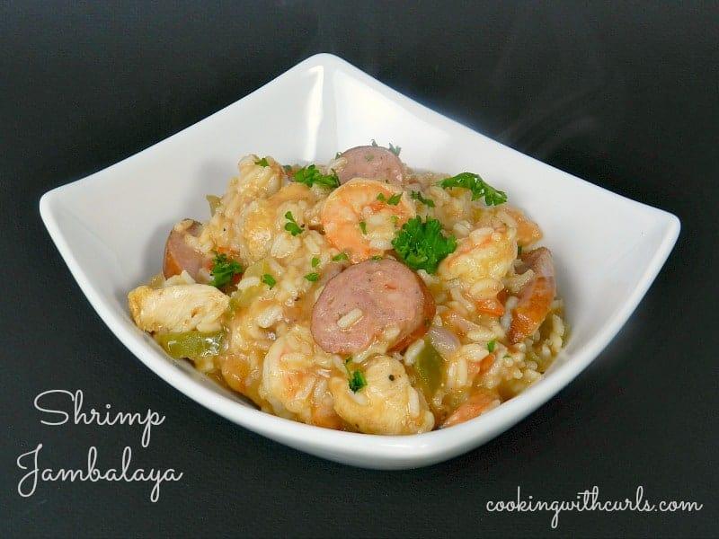 Shrimp Jambalaya & no more baking