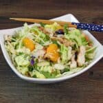 Asian Chicken Salad & flu that will not end