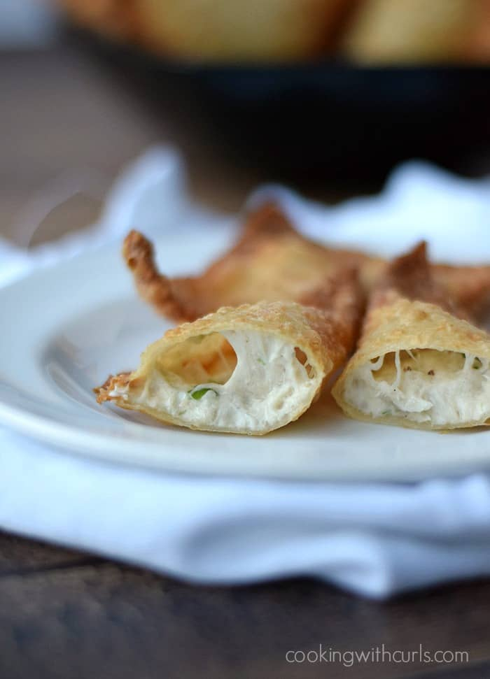 Crab Rangoons | cookingwithcurls.com #dairy-free