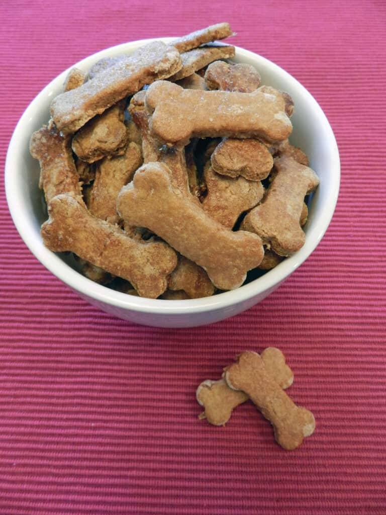 Peanut Butter And Banana Dog Biscuits Amp National Love Your