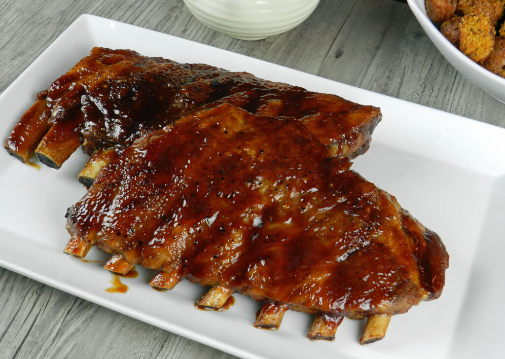 Guinness Barbecue Ribs & mother nature - Cooking With Curls
