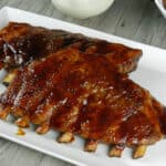 Guinness Barbecue Ribs & mother nature