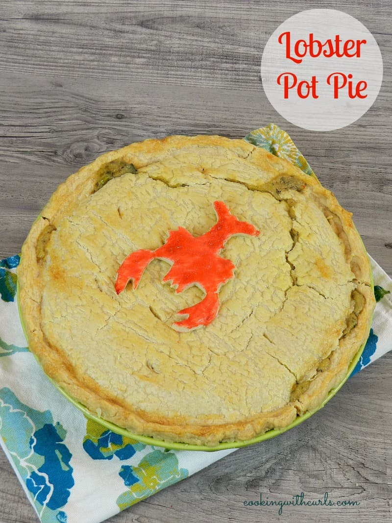 Lobster Pot Pie & freezing cold - Cooking With Curls