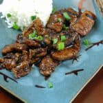 Mongolian Beef & year of the snake