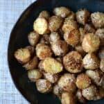Southwest Roasted Potatoes & more white stuff