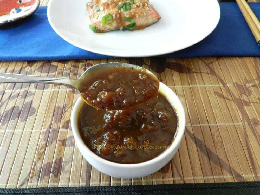 Teriyaki Sauce cookingiwthcurls.com