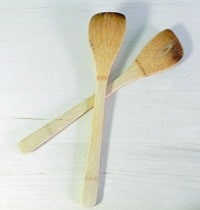 Bamboo Spatulas cookingwithcurls.com