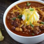 Guinness Chili & not national chili day
