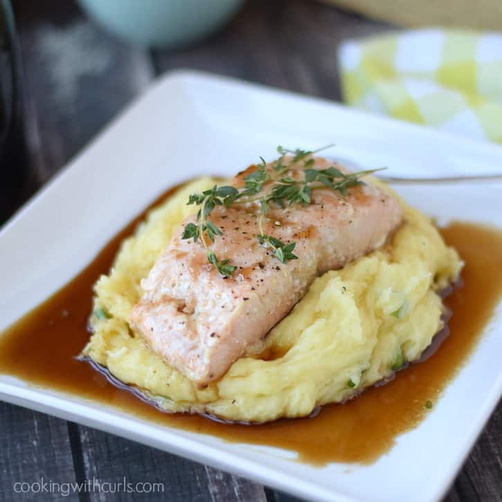 Guinness Glazed Salmon | cookingwithcurls.com