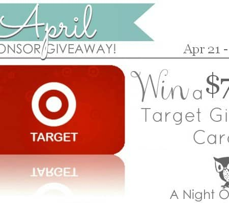 {Giveaway} $75 Target Gift Card {closed}