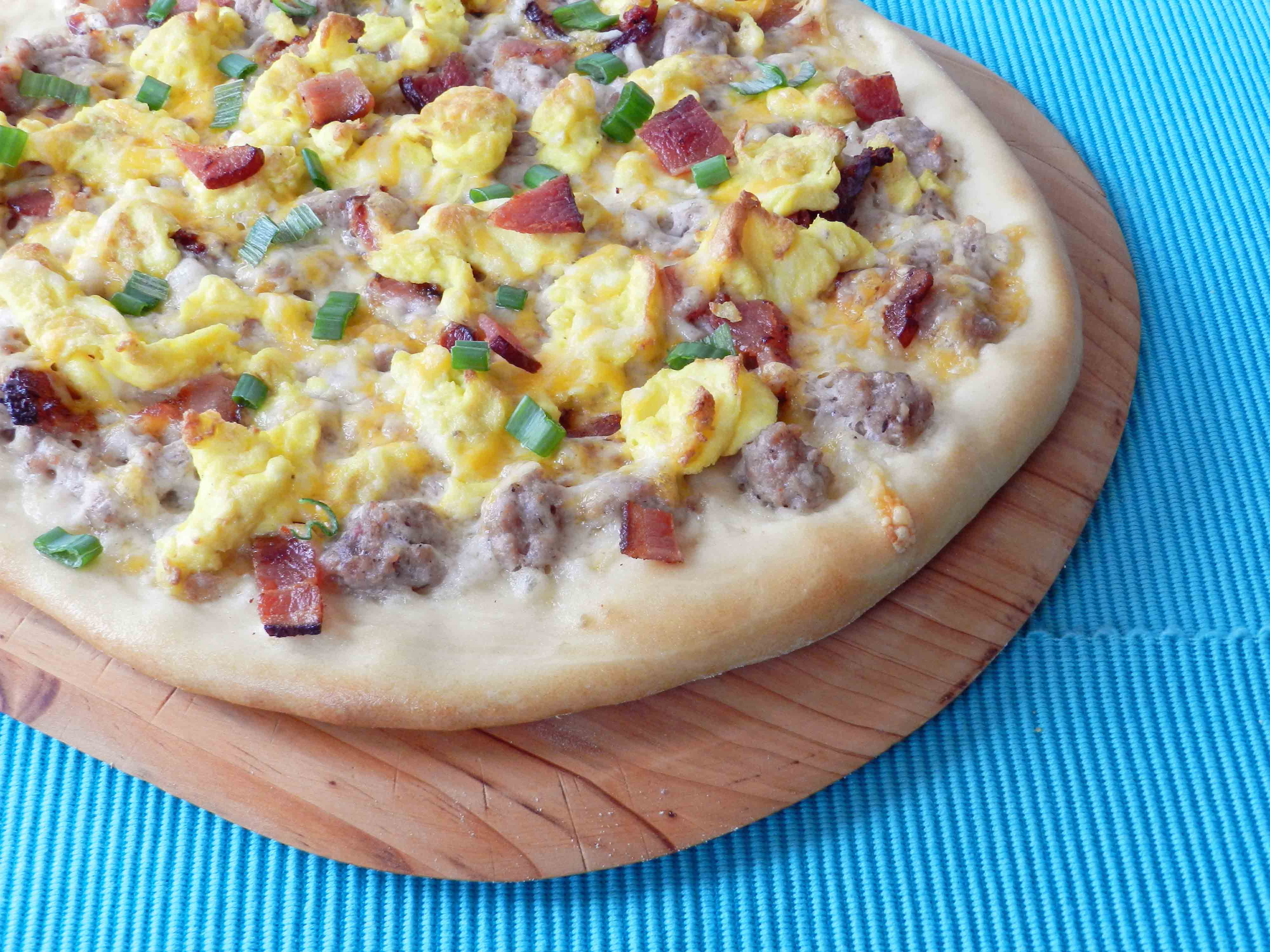 Breakfast Pizza (dairy-free) - Cooking With Curls
