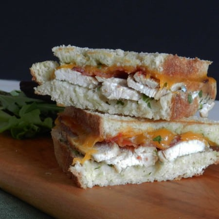 Grilled California Club & happy grilled cheese day