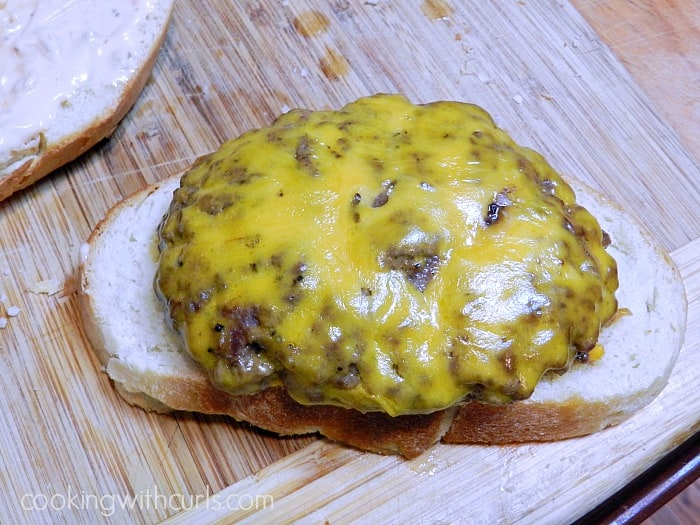 Frisco Burgers Cheese Burger cookingwithcurls.com