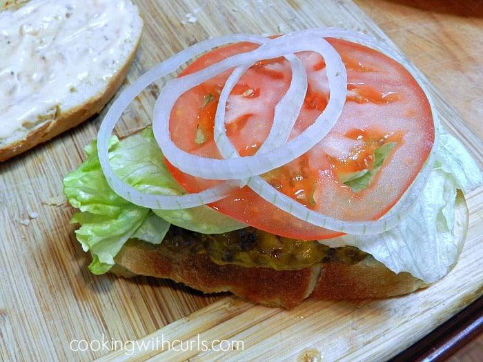 Frisco Burgers Onion cookingwithcurls.com