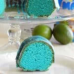 Blue Kamikaze Cocktail Cake & happy cassi day 2