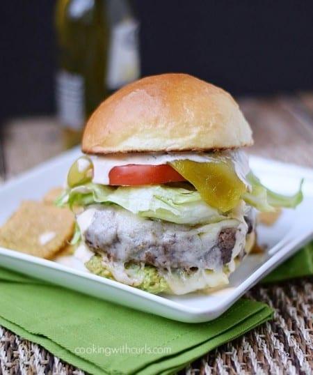 Santa Fe Burgers   cookingwithcurls.com