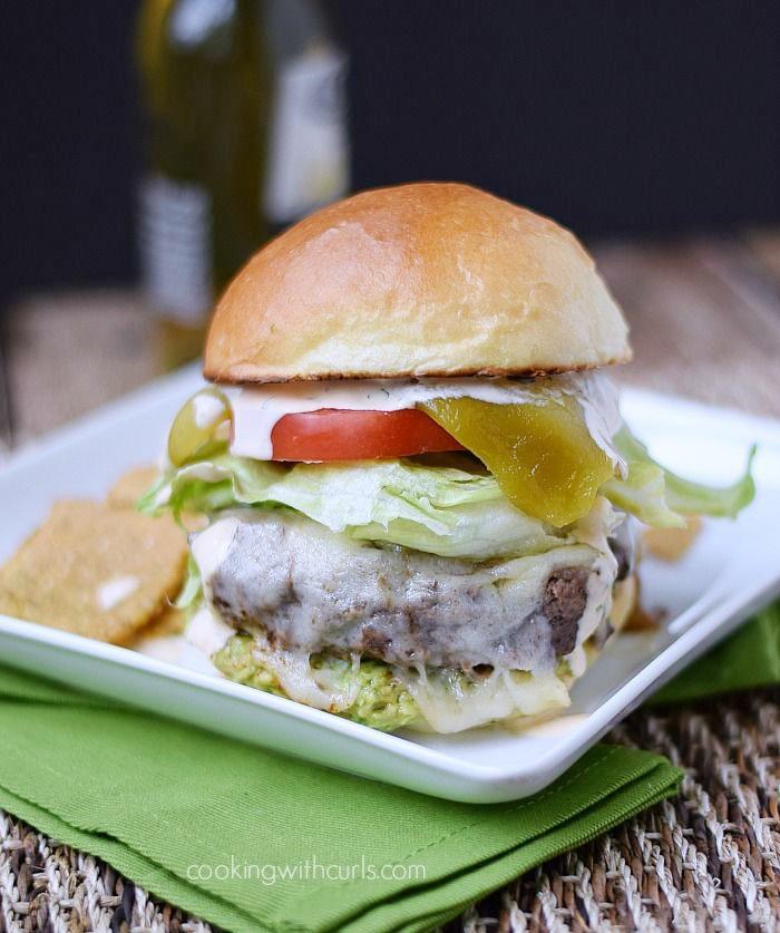 Santa Fe Burgers | cookingwithcurls.com