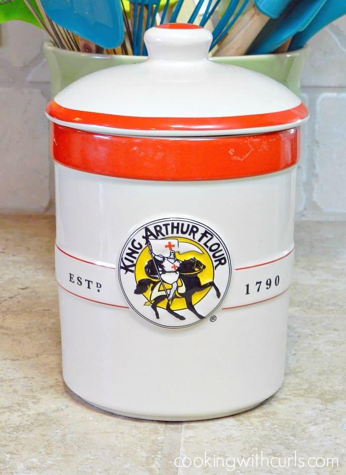 official KAF sourdough crock