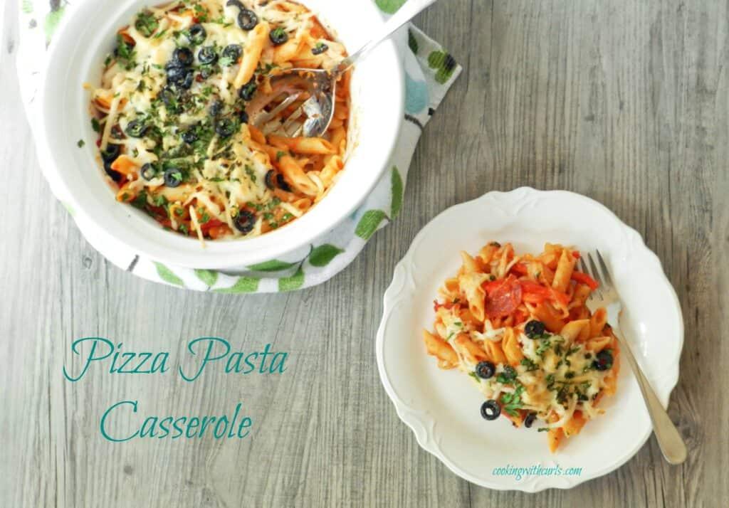 Pizza Pasta Cassarole