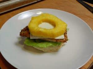 Teriyaki Chicken Pineapple Slice