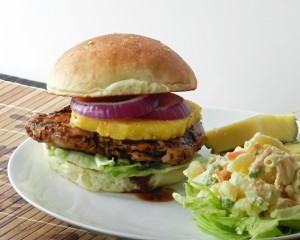 Teriyaki Chicken Sandwich 2