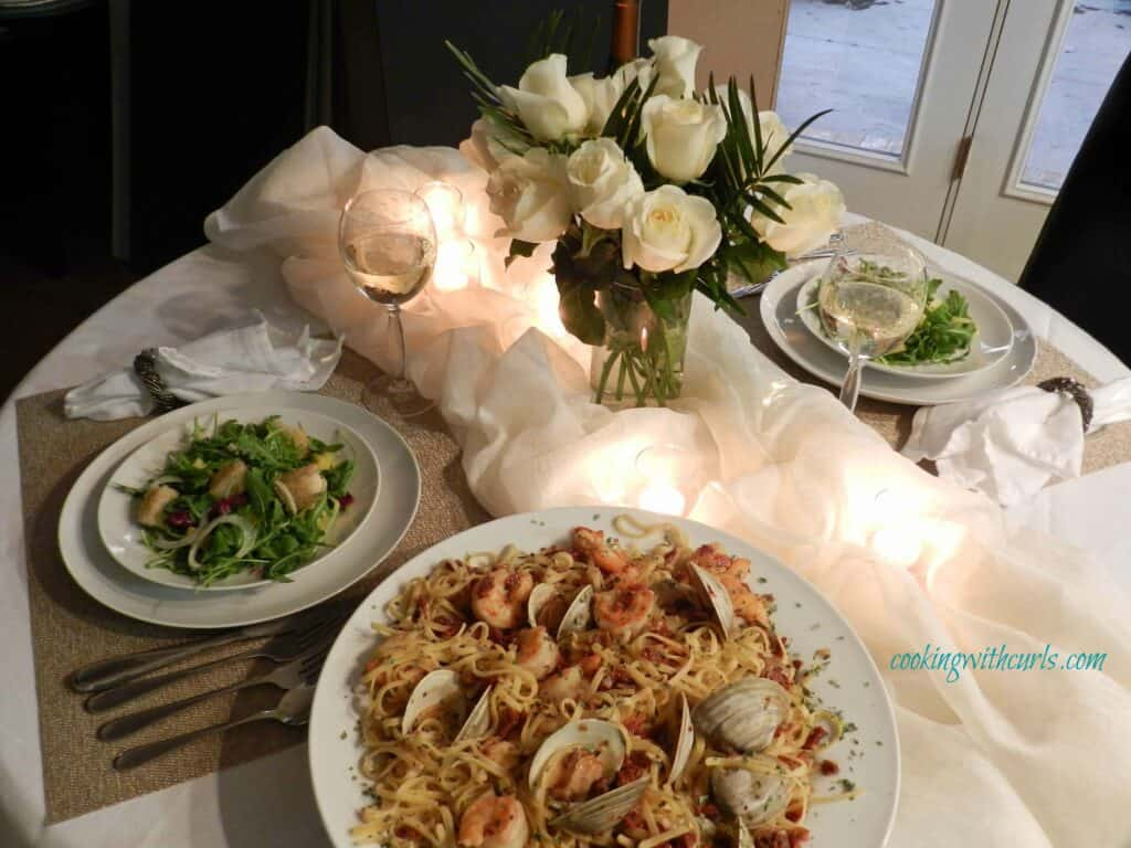 Candlelight Dinner Cancer cookingwithcurls WM