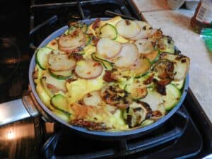 Italian Frittata cookingwithcurls.com