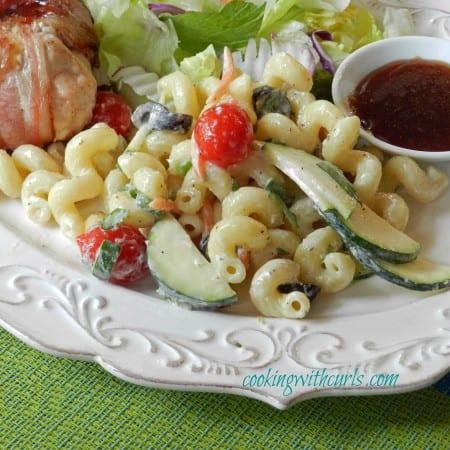Italian Pasta Salad & love the green light