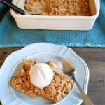 Apple Crisp & what month is it