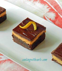 Orange Boozy Brownies WM cookingwithcurls.com