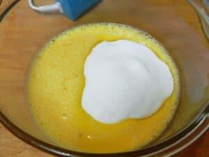 Orange Boozy Brownies eggs cookingwithcurls.com