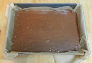 Orange Boozy Brownies pan cookingwithcurls.com