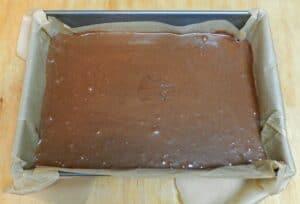 Orange Boozy Brownies pan cookingwithcurls.com