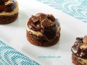 Peanut Butter Cup Boozy Brownies