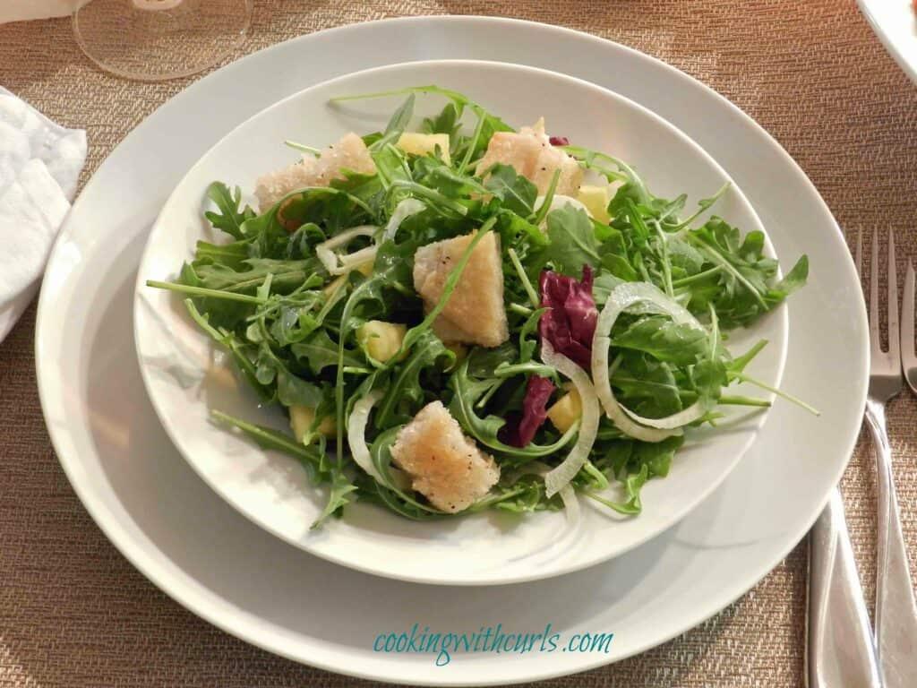Shaved Fennel Salad 5 cookingwithcurls WM