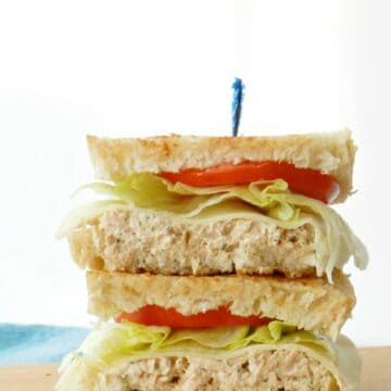 Tuna on Grilled Sourdough is a fun twist on an old family favorite.