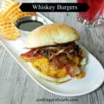 Whiskey Burgers & food styling