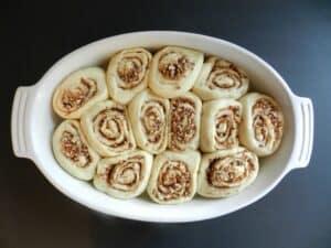Baklava Sourdough Cinnamon Rolls Rise cookingiwthcurls.com
