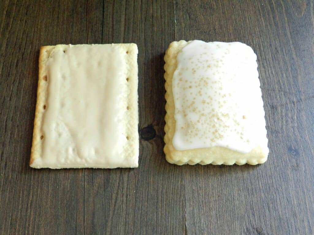 Blonde Fatale Pop Tarts Compare flat